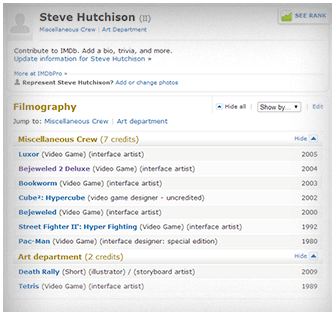 Steve Hutchison on IMDb